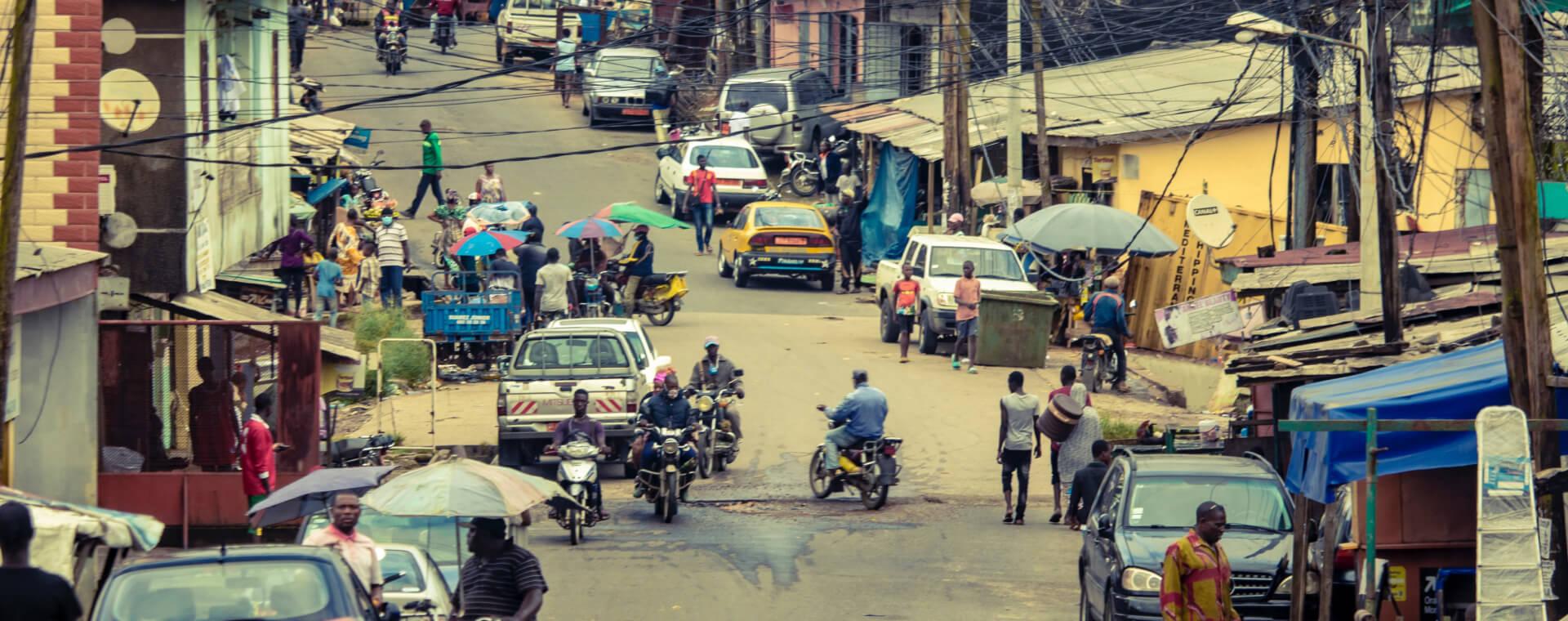 Cameroon risks illustration