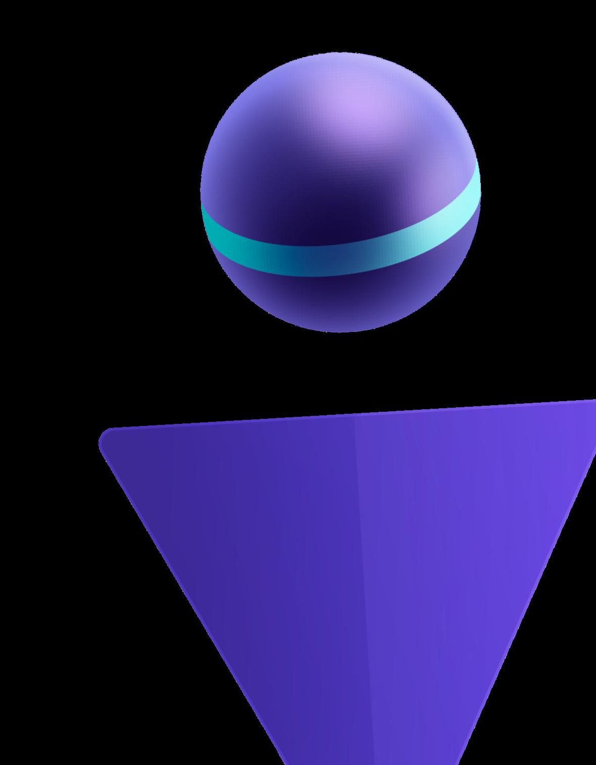 Geometric person