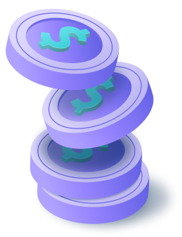 Coins illustration