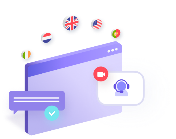 Chat illustration